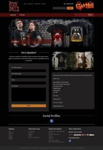 Rock Dolls Website