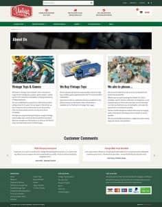Vintage Toys Website